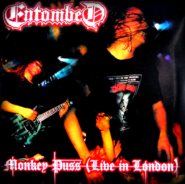 ENTOMBED monkey puss (live in london) LP