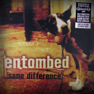 ENTOMBED same difference LP