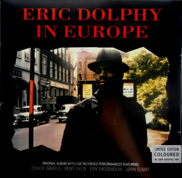 DOLPHY, ERIC in europe LP