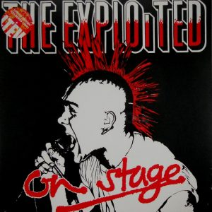 EXPLOITED, THE on stage LP