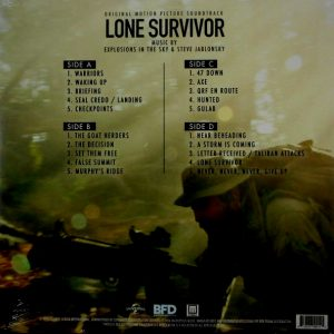 EXPLOSIONS IN THE SKY & STEVE JABLONSKY lone survivor LP