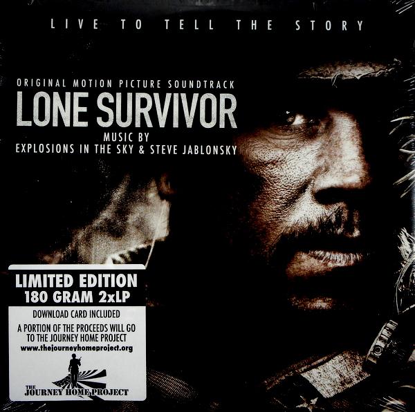 EXPLOSIONS IN THE SKY & STEVE JABLONSKY lone survivor LP