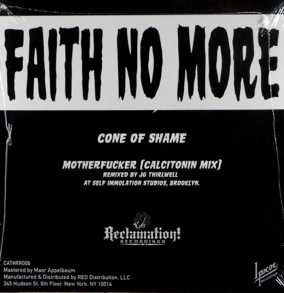 """FAITH NO MORE cone of shame - gold vinyl 7"""""""