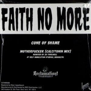 "FAITH NO MORE cone of shame - clear vinyl 7"""