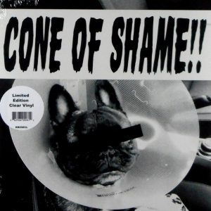 FAITH NO MORE cone of shame - clear vinyl 7""