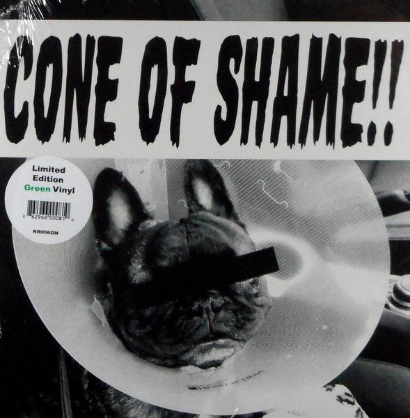 "FAITH NO MORE cone of shame - green vinyl 7"""