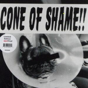 """FAITH NO MORE cone of shame - red vinyl 7"""""""