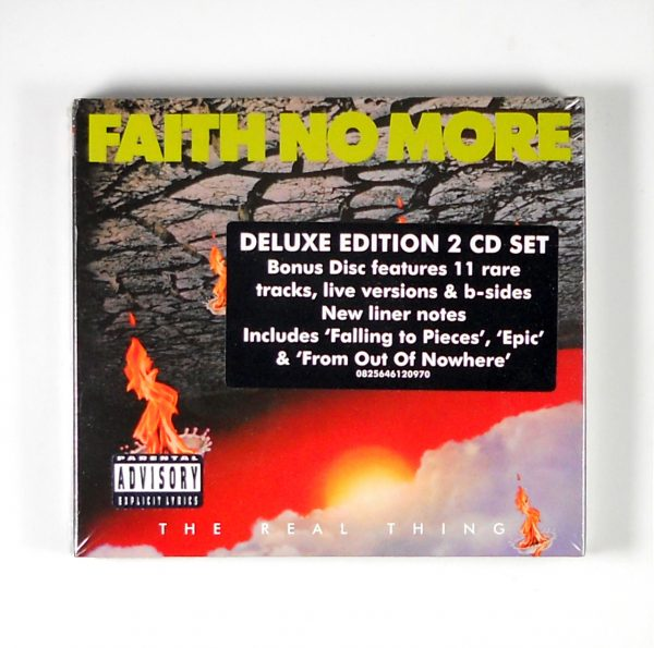 faith no more real thing deluxe cd front