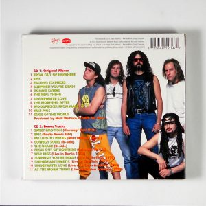 faith no more real thing deluxe cd back