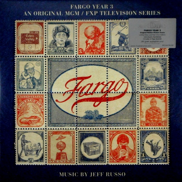 RUSSO, JEFF fargo year three - tv show soundtrack LP
