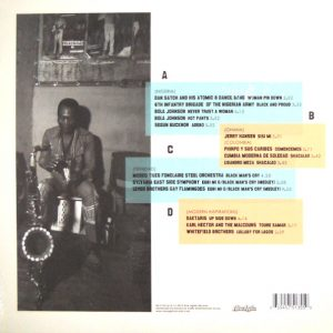 VARIOUS ARTISTS black man's cry - the inspiration of fela kuti LP back