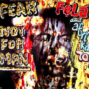 KUTI, FELA fear not for man LP
