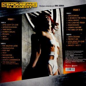 SERRA, ERIC the fifth element LP