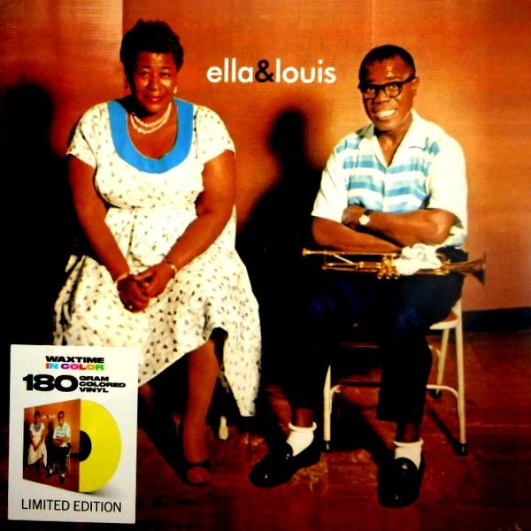 FITZGERALD, ELLA & LOUIS ARMSTRONG ella & louis - col vinyl LP