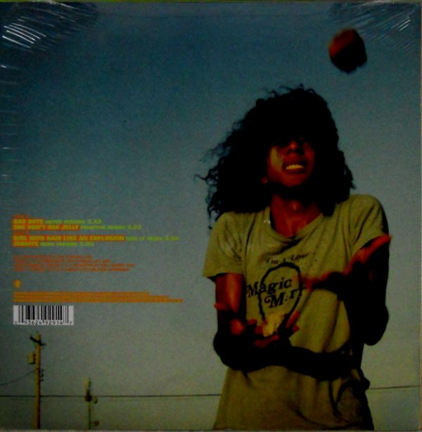 """FLAMING LIPS, THE bad days 10"""" inch back"""