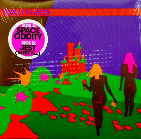 """FLAMING LIPS, THE space oddity 7"""""""