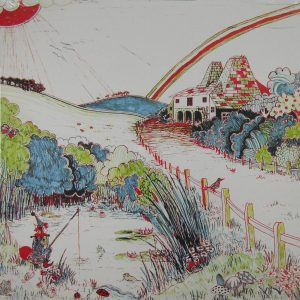 FLEETWOOD MAC kiln house LP back