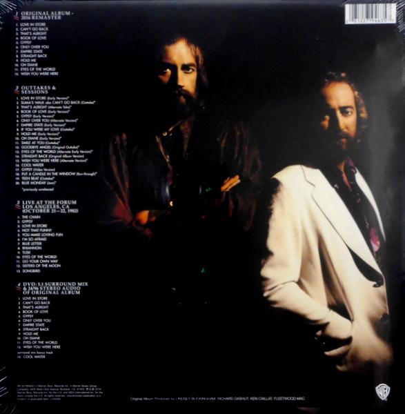 FLEETWOOD MAC mirage - deluxe box set LP