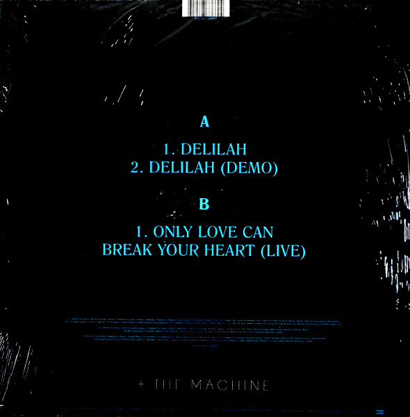 """FLORENCE & THE MACHINE delilah 12"""""""
