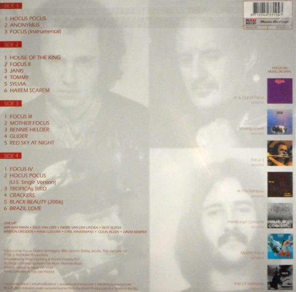 FOCUS hocus pocus - the best of LP