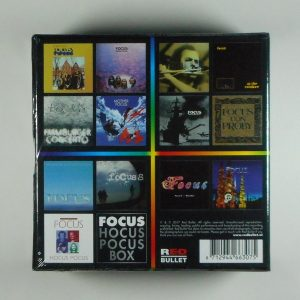 FOCUS hocus pocus - box set CD