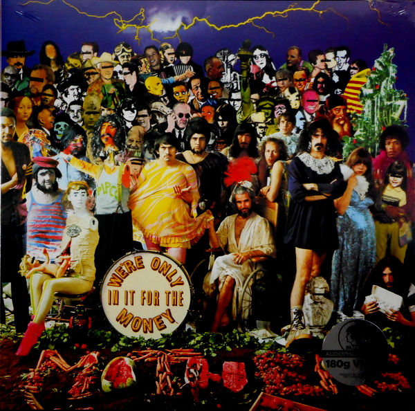 ZAPPA, FRANK we're only in it for the money LP