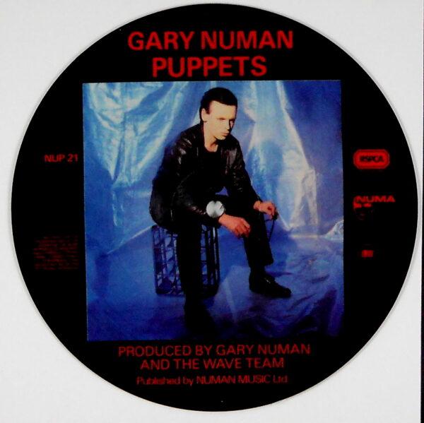 """NUMAN, GARY puppets 7"""" inch"""