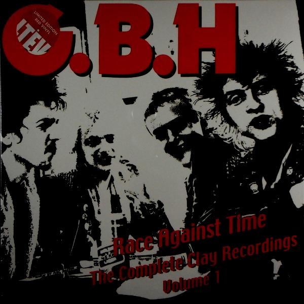 G.B.H. race against time - vol 1 LP