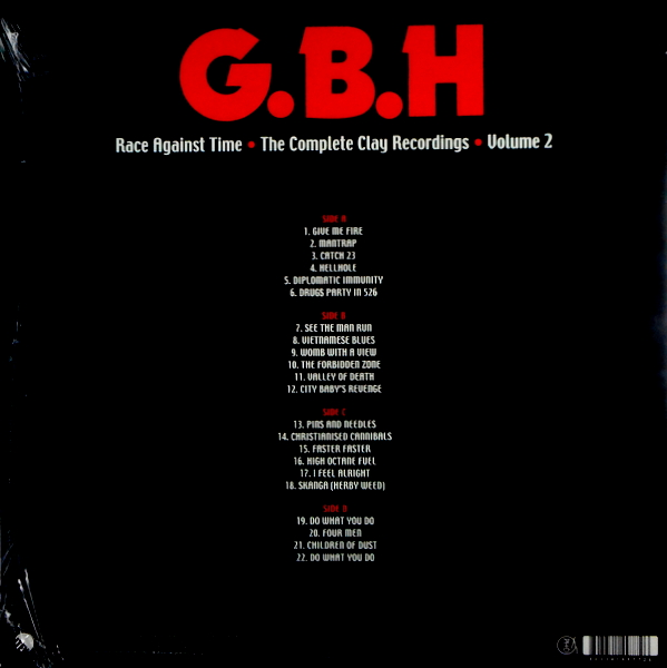 G.B.H. race against time - vol 2 LP