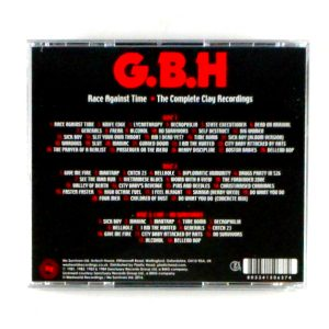 G.B.H. race against time CD