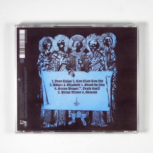 GHOST opus eponymous CD back