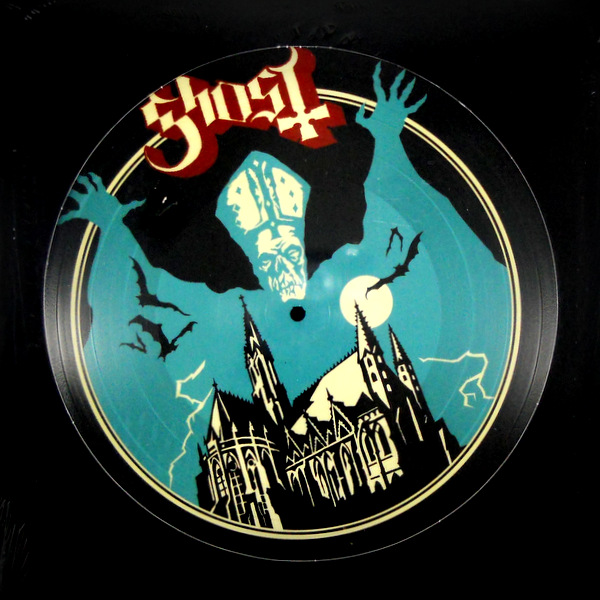 GHOST opus eponymous - pic disc LP