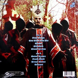 GHOST opus eponymous - pic disc LP back