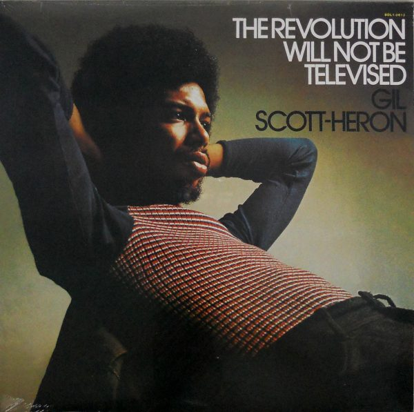 SCOTT-HERON, GIL the revolution will not be televised LP