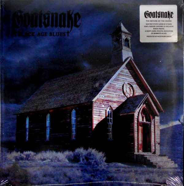 GOATSNAKE black age blues LP