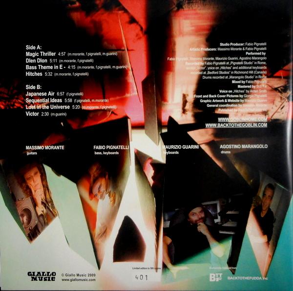 GOBLIN back to the Goblin 2005 LP