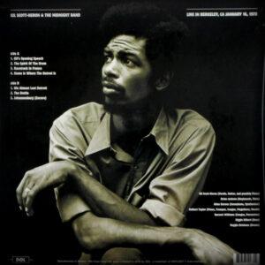 SCOTT-HERON, GIL live in berkeley 1978 LP