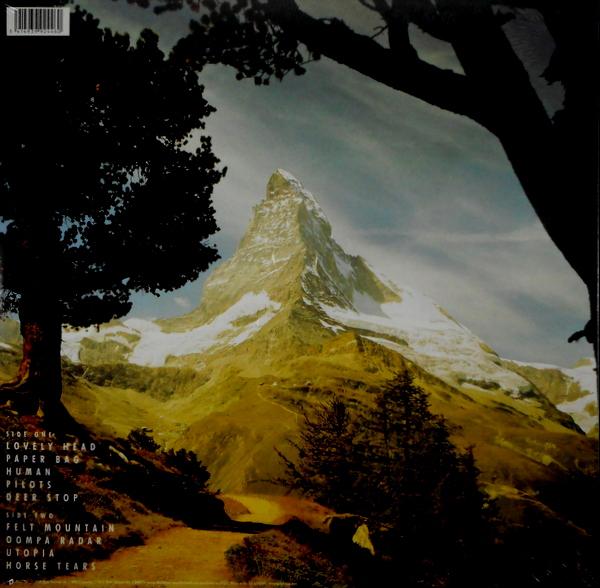 GOLDFRAPP felt mountain LP