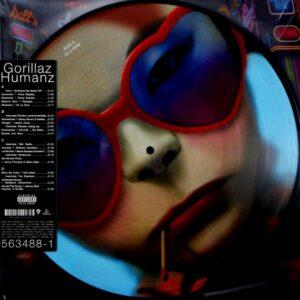 GORILLAZ humanz - pic disc LP