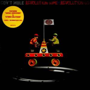 GOV'T MULE revolution come….revolution go LP