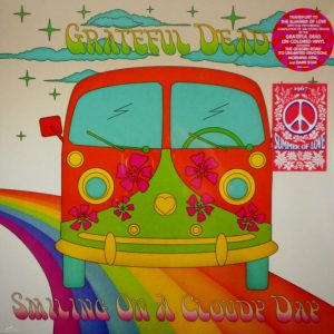 GRATEFUL DEAD smiling on a cloudy day LP