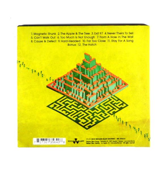 GRAVEYARD innocence & decadence CD back