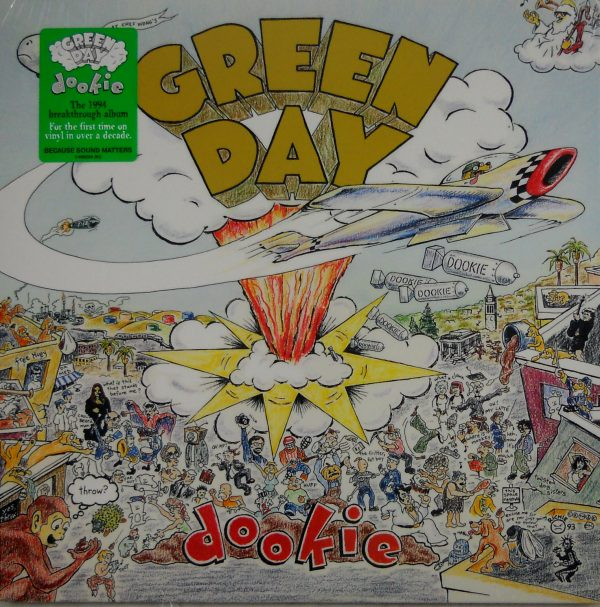 green day dookie lp