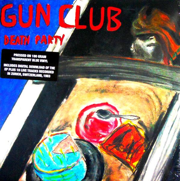 GUN CLUB, THE death party - col vinyl LP