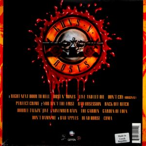 GUNS 'N ROSES use your illusion - vol 1 LP