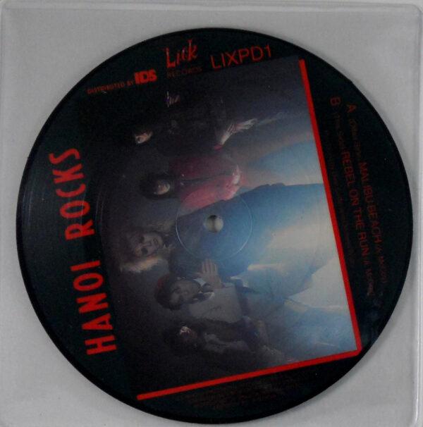 hanoi rocks 7 inch pic disc