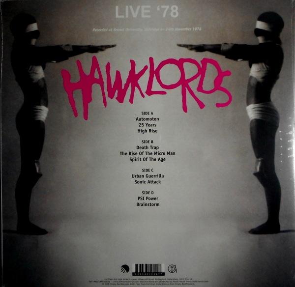HAWKWIND (HAWKLORDS) live '78 LP