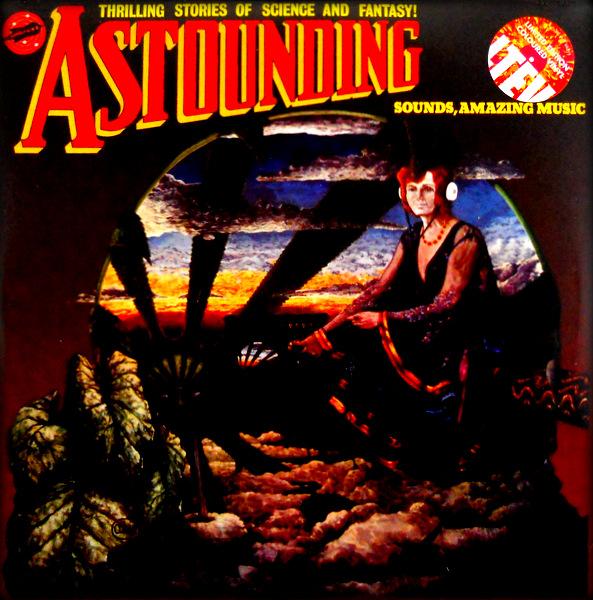 HAWKWIND astounding sounds amazing music LP