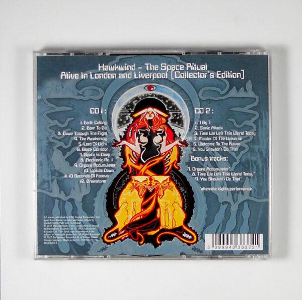 HAWKWIND space ritual CD back