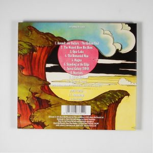 HAWKWIND warrior on the edge of time CD back